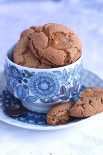 Gingernuts with Fresh Ginger