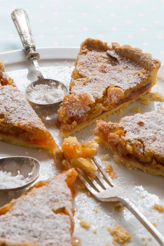 Dried Apricot and Almond Tart