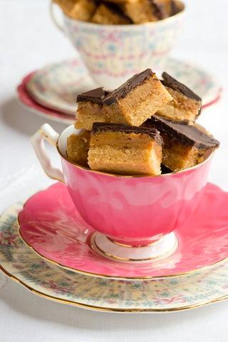 Caramel Chocolate Slice