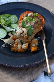 Sweet Thai Curry in Butternut Pumpkin