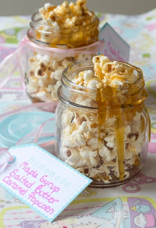 Maple Syrup  Salted Butter Caramel Popcorn