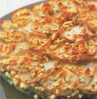 Rosemary And Feta Baked Potatoes