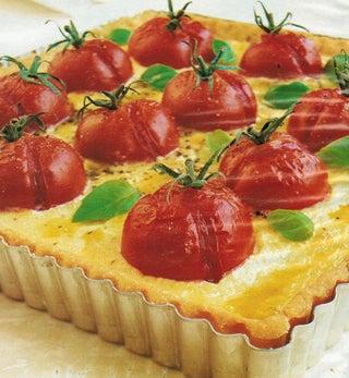Bocconcini And Tomato Tart