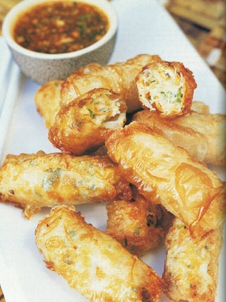 Chicken And Crab Rolls With Vietnamese Dipping Sauce