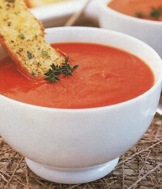 Smoked Paprika And Red Pepper Soup