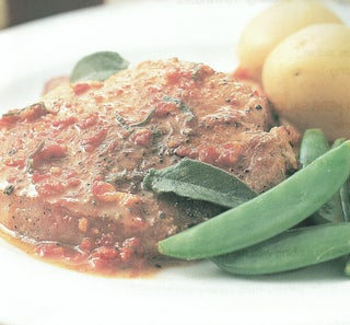 Pork With Sundried Tomato Butter