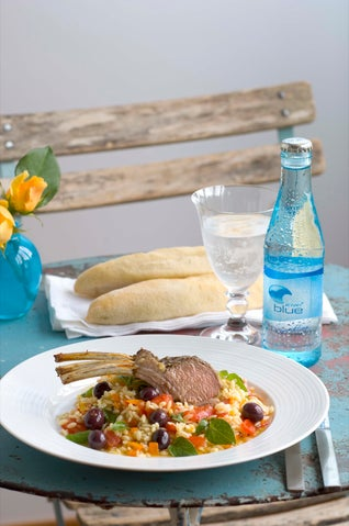 Lamb Cutlets With Greek-style Salad