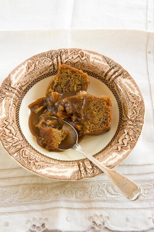 Outrageous Pecan Toffee Pud