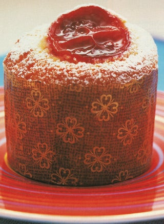 Vanilla Verjuice Poached Tamarillo Cake