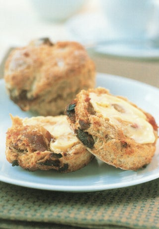 Wholemeal and Buttermilk Date Scones