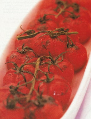 Roast Tomatoes With Sumac And Pepper