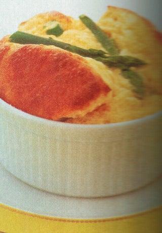 Asparagus And Parmesan Souffles