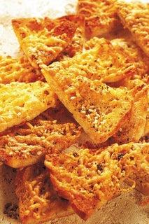 Parmesan Pita Toasts