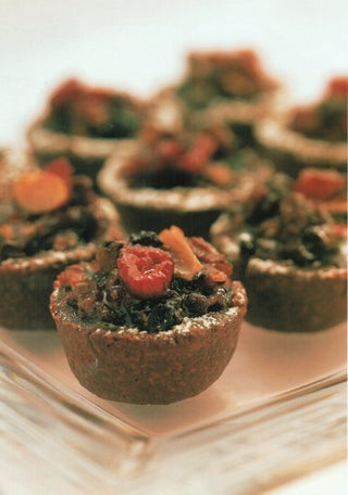 Christmas Cranberry And Chocolate Mince Tarts