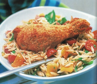 Crispy Parmesan Chicken With Toasted Sweetcorn Salsa