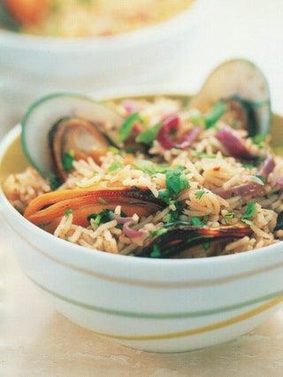 Sweet Mussel Pilaf