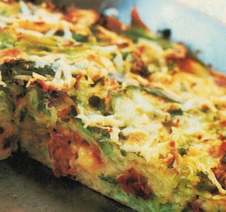 Baked Cabbage With Mozzarella