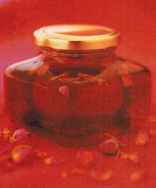 Quince And Rosewater Jelly