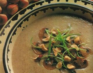 Mushroom And Hazelnut Soup