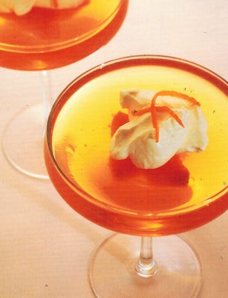 Champagne And Peach Jelly