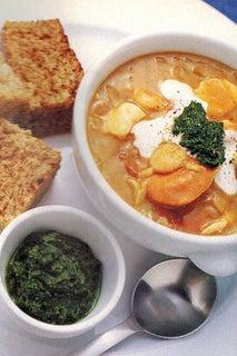 Mulligatawny Seafood Soup