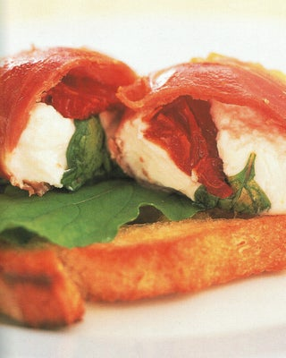 Roasted Prosciutto With Goat's Cheese