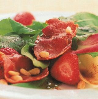 Strawberry And Prosciutto Salad