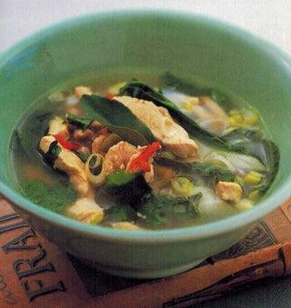 Thai Hot Sour Chicken Soup