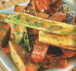 Roast Winter Vegetables With Miso