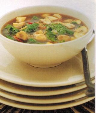 Mushroom And Chilli Soup