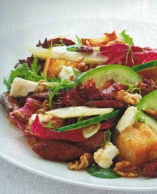 Crunchy Chorizo Salad