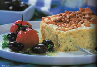Greek Cheese And Parsley Pie