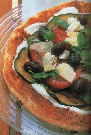 Tomato And Aubergine Tart