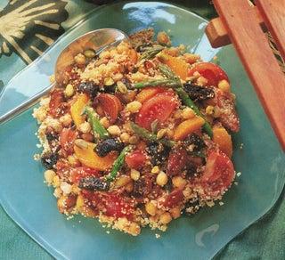 Chickpea Salad With Mediterranean Flavours