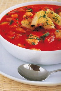 Provencale Fish Soup With Hot Garlic Croutons
