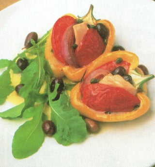 Baked Summer Peppers