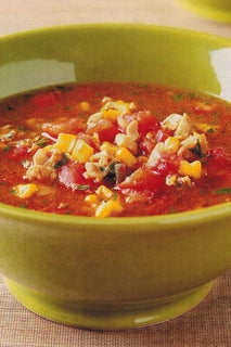 Sweet Chicken And Roasted Corn Soup