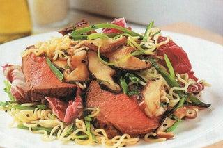 Shiitake Mushroom And Noodle Salad