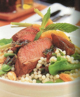 Lamb And Fig Couscous Salad