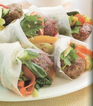Thai Pork Burgers