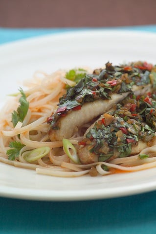 Thai Scented Baked Fish