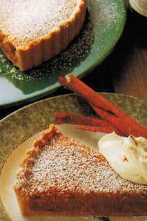 Almond And Sherry Tart