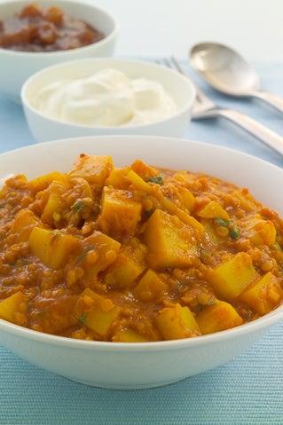 Potato And Lentil Curry