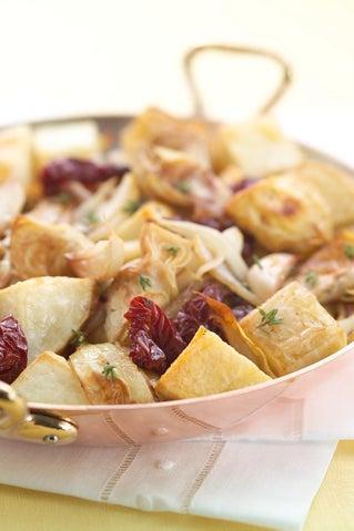 Roast Potato And Artichoke Hash