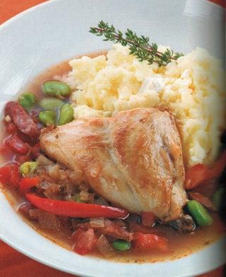Mediterranean Rabbit Stew