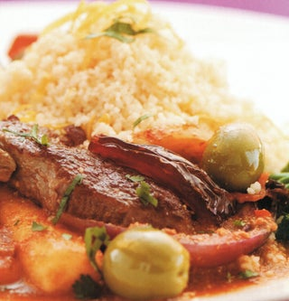 Lamb Tagine With Ginger Couscous