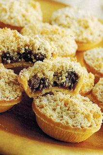 Almond Crumble Christmas Mince Tarts