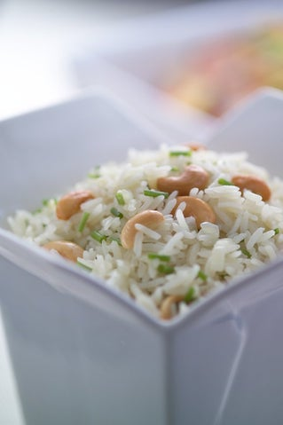 Rice Pilaf With Cardamom And Pepper