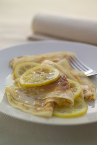 Crepes With Limoncello
