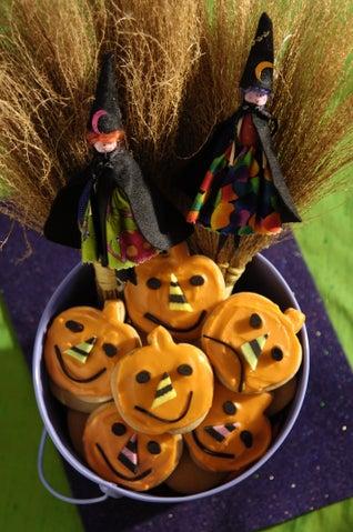 Spiced Pumpkin Biscuits